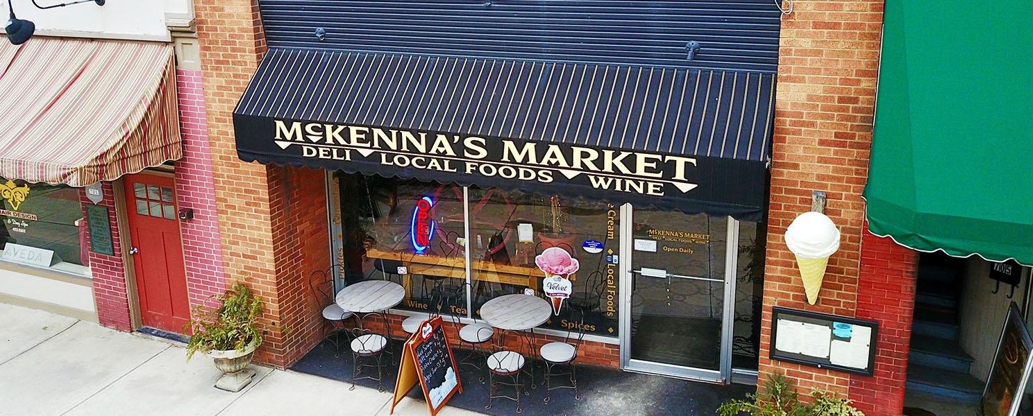 McKennas Market Cambridge Ohio Downtown